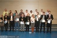 Súťažiaci 3. ročníka stredoeurópskej rečníckej sútaže klubov Toastmasters, foto: Miloslav Ofúkaný