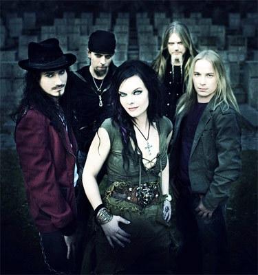 Hudobná skupina Nightwish s novou speváčkou, zdroj: last.fm